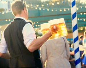 Oktoberfest fun in Munich